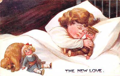 ted004107 - Teddy Bear Post Card