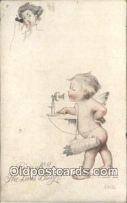 tep001129 - Artist E.H.S.  Postcard Post Card, Carte Postale, Cartolina Postale, Tarjets Postal,  Old Vintage Antique