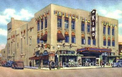 the001017 - Kimo Theatre, Albuquerque, New Mexico, NM, USA,  Postcard Postcards