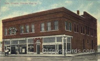 the001029 - Gem Theatre, Charles City, La, USA Theater Postcard Postcards