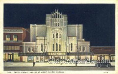 the100170 - Elsinore Theatre Salem, OR, USA Postcard Post Cards Old Vintage Antique