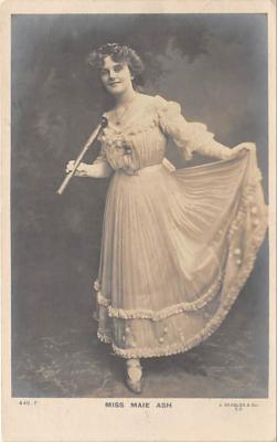 the201027 - Theater Actor / Actress Old Vintage Antique Postcard Post Card, Postales, Postkaarten, Kartpostal, Cartes, Postkarte, Ansichtskarte