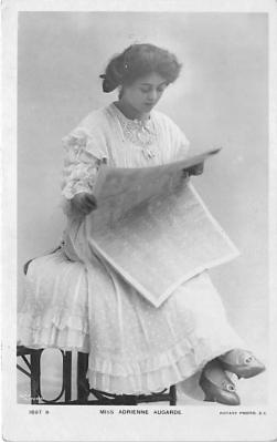 the201071 - Theater Actor / Actress Old Vintage Antique Postcard Post Card, Postales, Postkaarten, Kartpostal, Cartes, Postkarte, Ansichtskarte