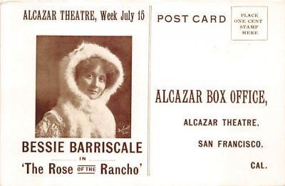 the202010 - Theater Actor / Actress Old Vintage Antique Postcard Post Card, Postales, Postkaarten, Kartpostal, Cartes, Postkarte, Ansichtskarte