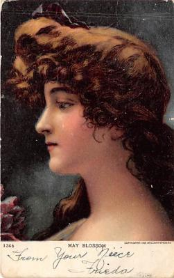 the202040 - Theater Actor / Actress Old Vintage Antique Postcard Post Card, Postales, Postkaarten, Kartpostal, Cartes, Postkarte, Ansichtskarte