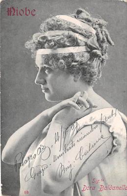 the202064 - Theater Actor / Actress Old Vintage Antique Postcard Post Card, Postales, Postkaarten, Kartpostal, Cartes, Postkarte, Ansichtskarte