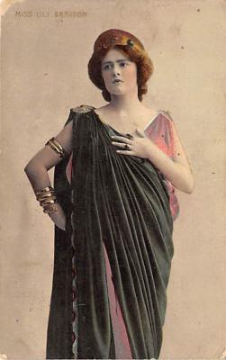 the202079 - Theater Actor / Actress Old Vintage Antique Postcard Post Card, Postales, Postkaarten, Kartpostal, Cartes, Postkarte, Ansichtskarte