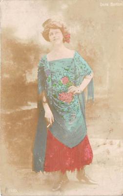 the202083 - Theater Actor / Actress Old Vintage Antique Postcard Post Card, Postales, Postkaarten, Kartpostal, Cartes, Postkarte, Ansichtskarte