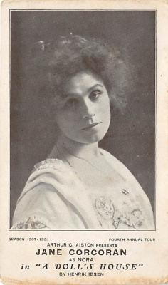 the203041 - Theater Actor / Actress Old Vintage Antique Postcard Post Card, Postales, Postkaarten, Kartpostal, Cartes, Postkarte, Ansichtskarte