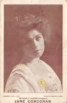 the203200 - Theater Actor / Actress Old Vintage Antique Postcard Post Card, Postales, Postkaarten, Kartpostal, Cartes, Postkarte, Ansichtskarte