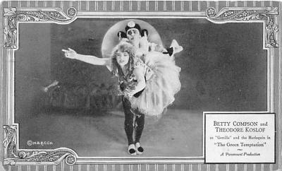 the203225 - Theater Actor / Actress Old Vintage Antique Postcard Post Card, Postales, Postkaarten, Kartpostal, Cartes, Postkarte, Ansichtskarte