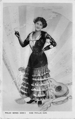 the204011 - Theater Actor / Actress Old Vintage Antique Postcard Post Card, Postales, Postkaarten, Kartpostal, Cartes, Postkarte, Ansichtskarte