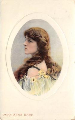 the204021 - Theater Actor / Actress Old Vintage Antique Postcard Post Card, Postales, Postkaarten, Kartpostal, Cartes, Postkarte, Ansichtskarte