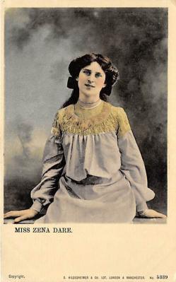 the204022 - Theater Actor / Actress Old Vintage Antique Postcard Post Card, Postales, Postkaarten, Kartpostal, Cartes, Postkarte, Ansichtskarte