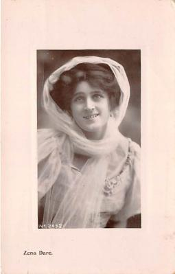 the204023 - Theater Actor / Actress Old Vintage Antique Postcard Post Card, Postales, Postkaarten, Kartpostal, Cartes, Postkarte, Ansichtskarte