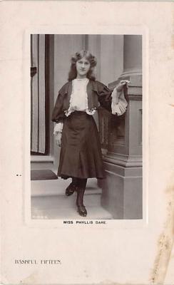 the204028 - Theater Actor / Actress Old Vintage Antique Postcard Post Card, Postales, Postkaarten, Kartpostal, Cartes, Postkarte, Ansichtskarte