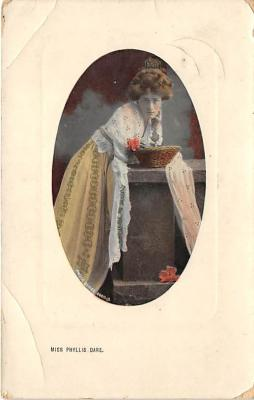 the204032 - Theater Actor / Actress Old Vintage Antique Postcard Post Card, Postales, Postkaarten, Kartpostal, Cartes, Postkarte, Ansichtskarte