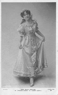 the204044 - Theater Actor / Actress Old Vintage Antique Postcard Post Card, Postales, Postkaarten, Kartpostal, Cartes, Postkarte, Ansichtskarte