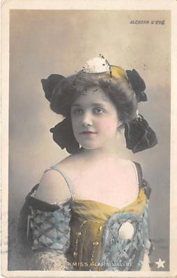 the204052 - Theater Actor / Actress Old Vintage Antique Postcard Post Card, Postales, Postkaarten, Kartpostal, Cartes, Postkarte, Ansichtskarte