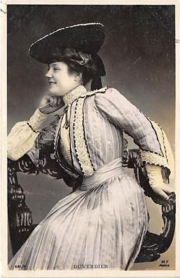 the204054 - Theater Actor / Actress Old Vintage Antique Postcard Post Card, Postales, Postkaarten, Kartpostal, Cartes, Postkarte, Ansichtskarte