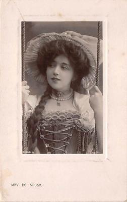 the204055 - Theater Actor / Actress Old Vintage Antique Postcard Post Card, Postales, Postkaarten, Kartpostal, Cartes, Postkarte, Ansichtskarte