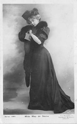 the204056 - Theater Actor / Actress Old Vintage Antique Postcard Post Card, Postales, Postkaarten, Kartpostal, Cartes, Postkarte, Ansichtskarte