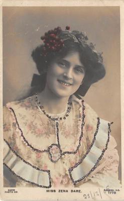 the204059 - Theater Actor / Actress Old Vintage Antique Postcard Post Card, Postales, Postkaarten, Kartpostal, Cartes, Postkarte, Ansichtskarte