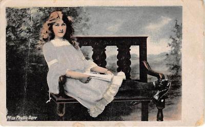 the204060 - Theater Actor / Actress Old Vintage Antique Postcard Post Card, Postales, Postkaarten, Kartpostal, Cartes, Postkarte, Ansichtskarte