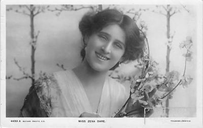 the204062 - Theater Actor / Actress Old Vintage Antique Postcard Post Card, Postales, Postkaarten, Kartpostal, Cartes, Postkarte, Ansichtskarte