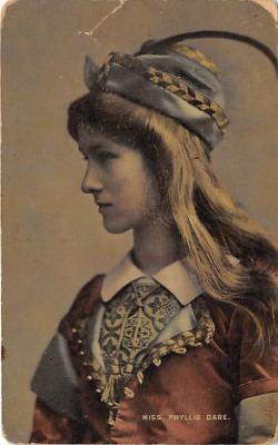 the204166 - Theater Actor / Actress Old Vintage Antique Postcard Post Card, Postales, Postkaarten, Kartpostal, Cartes, Postkarte, Ansichtskarte