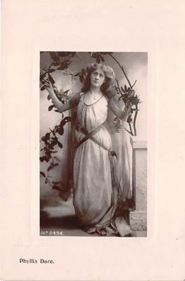 the204188 - Theater Actor / Actress Old Vintage Antique Postcard Post Card, Postales, Postkaarten, Kartpostal, Cartes, Postkarte, Ansichtskarte
