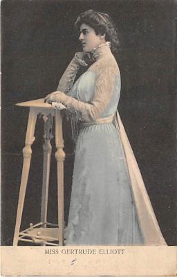 the204198 - Theater Actor / Actress Old Vintage Antique Postcard Post Card, Postales, Postkaarten, Kartpostal, Cartes, Postkarte, Ansichtskarte