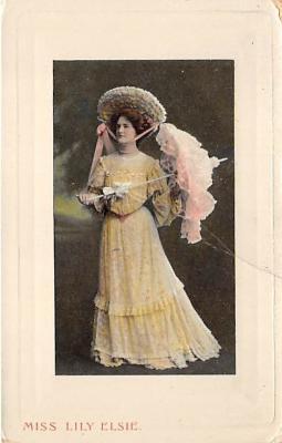 the204203 - Theater Actor / Actress Old Vintage Antique Postcard Post Card, Postales, Postkaarten, Kartpostal, Cartes, Postkarte, Ansichtskarte