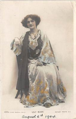 the204205 - Theater Actor / Actress Old Vintage Antique Postcard Post Card, Postales, Postkaarten, Kartpostal, Cartes, Postkarte, Ansichtskarte