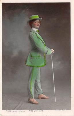 the204209 - Theater Actor / Actress Old Vintage Antique Postcard Post Card, Postales, Postkaarten, Kartpostal, Cartes, Postkarte, Ansichtskarte