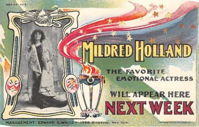 the208113 - Theater Actor / Actress Old Vintage Antique Postcard Post Card, Postales, Postkaarten, Kartpostal, Cartes, Postkarte, Ansichtskarte