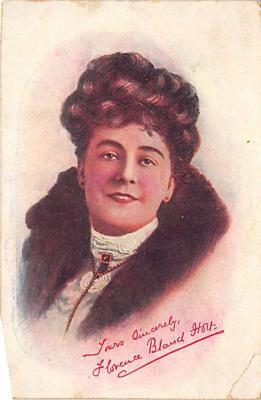 the208163 - Theater Actor / Actress Old Vintage Antique Postcard Post Card, Postales, Postkaarten, Kartpostal, Cartes, Postkarte, Ansichtskarte