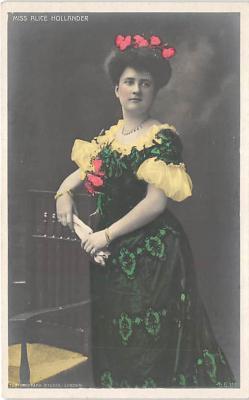 the208177 - Theater Actor / Actress Old Vintage Antique Postcard Post Card, Postales, Postkaarten, Kartpostal, Cartes, Postkarte, Ansichtskarte