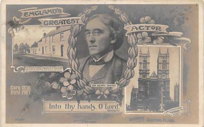 the209001 - Theater Actor / Actress Old Vintage Antique Postcard Post Card, Postales, Postkaarten, Kartpostal, Cartes, Postkarte, Ansichtskarte