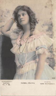 the209020 - Theater Actor / Actress Old Vintage Antique Postcard Post Card, Postales, Postkaarten, Kartpostal, Cartes, Postkarte, Ansichtskarte
