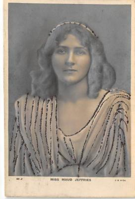the210033 - Theater Actor / Actress Old Vintage Antique Postcard Post Card, Postales, Postkaarten, Kartpostal, Cartes, Postkarte, Ansichtskarte