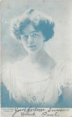 the212033 - Theater Actor / Actress Old Vintage Antique Postcard Post Card, Postales, Postkaarten, Kartpostal, Cartes, Postkarte, Ansichtskarte