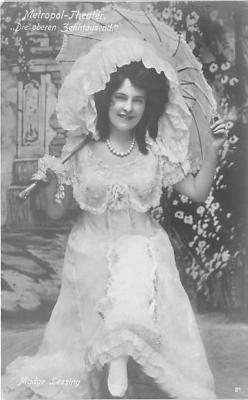 the212035 - Theater Actor / Actress Old Vintage Antique Postcard Post Card, Postales, Postkaarten, Kartpostal, Cartes, Postkarte, Ansichtskarte