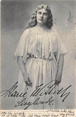the212041 - Theater Actor / Actress Old Vintage Antique Postcard Post Card, Postales, Postkaarten, Kartpostal, Cartes, Postkarte, Ansichtskarte
