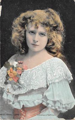 the212056 - Theater Actor / Actress Old Vintage Antique Postcard Post Card, Postales, Postkaarten, Kartpostal, Cartes, Postkarte, Ansichtskarte