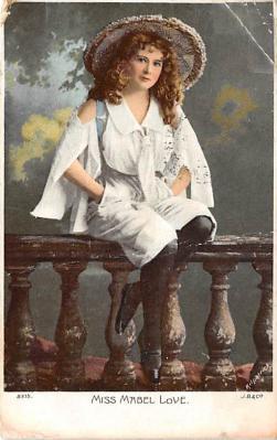 the212079 - Theater Actor / Actress Old Vintage Antique Postcard Post Card, Postales, Postkaarten, Kartpostal, Cartes, Postkarte, Ansichtskarte