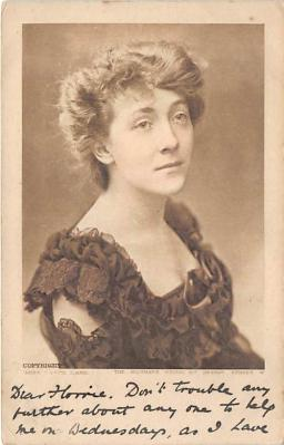 the212145 - Theater Actor / Actress Old Vintage Antique Postcard Post Card, Postales, Postkaarten, Kartpostal, Cartes, Postkarte, Ansichtskarte