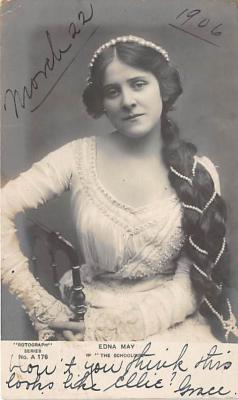 the213008 - Theater Actor / Actress Old Vintage Antique Postcard Post Card, Postales, Postkaarten, Kartpostal, Cartes, Postkarte, Ansichtskarte