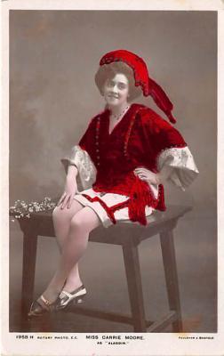 the213124 - Theater Actor / Actress Old Vintage Antique Postcard Post Card, Postales, Postkaarten, Kartpostal, Cartes, Postkarte, Ansichtskarte