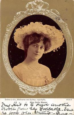 the213151 - Theater Actor / Actress Old Vintage Antique Postcard Post Card, Postales, Postkaarten, Kartpostal, Cartes, Postkarte, Ansichtskarte